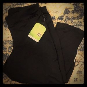 🆕🖤 REI Airflyte Running Capris Black Large L